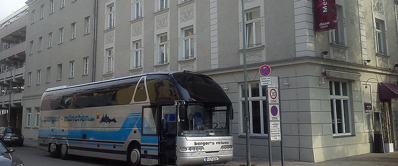 Hoteltransfers mit berger's reisen Omnibus & Touristik oHG - Ihrem Busunternehmen im Münchner Osten