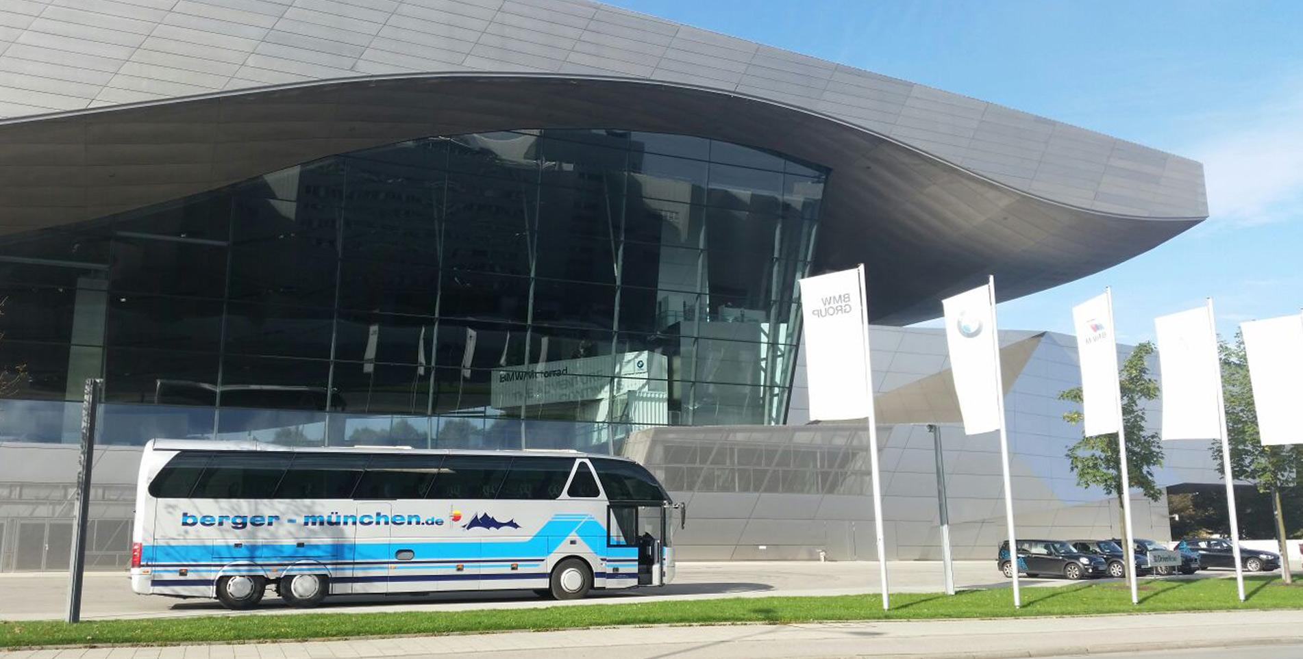 berger's reisen - Omnibus & Touristik - Ihr Busunternehmen in München - Ausflüge, Events, Busanmietung, Shuttleservice und Linienverkehr